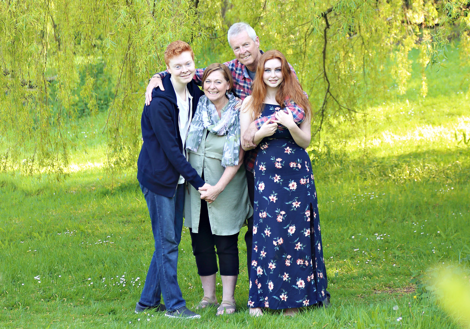 Family photo shoot in Dyffryn Gardens South Wales
