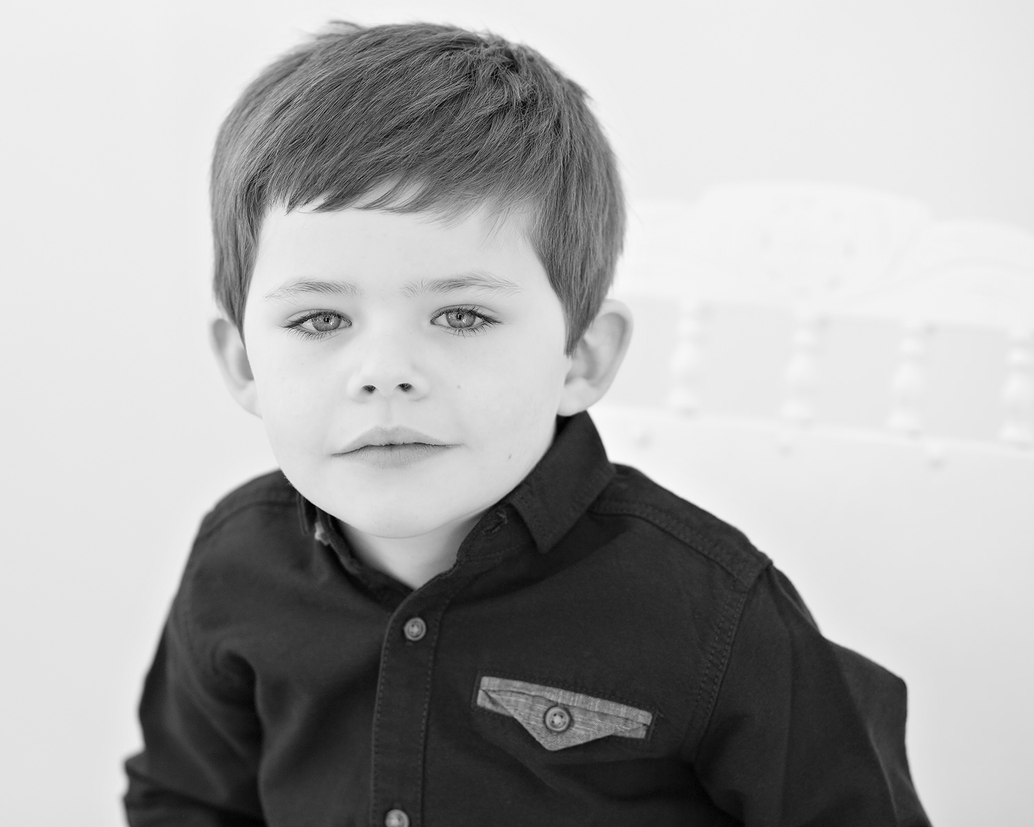 Children's headshot session