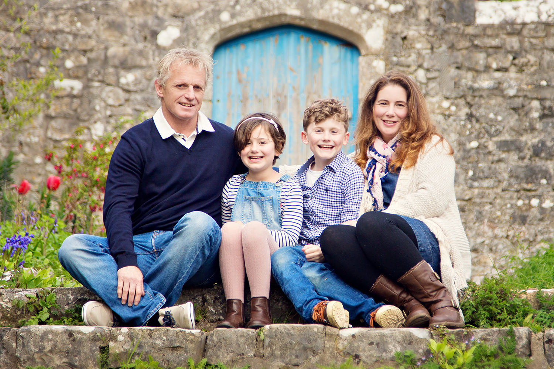 Spring Family Portrait