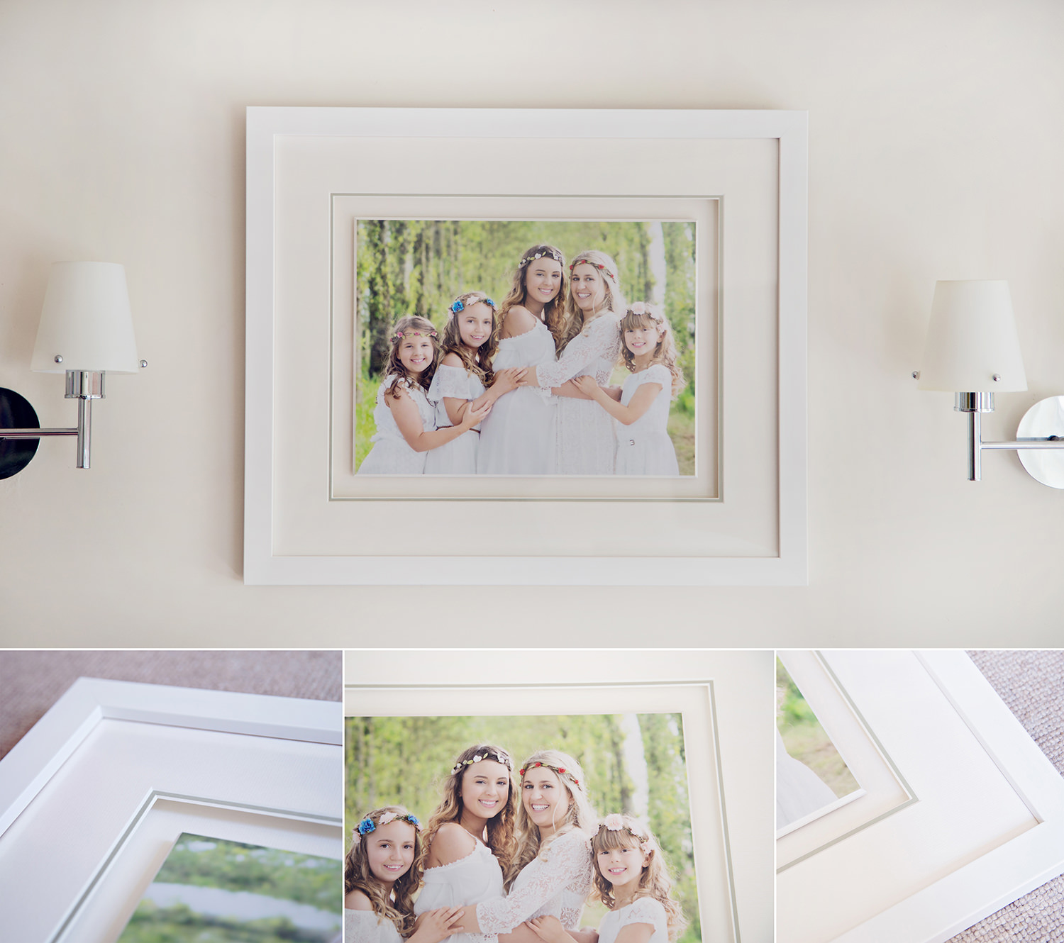 Frame options from Gemma Griffiths Photography