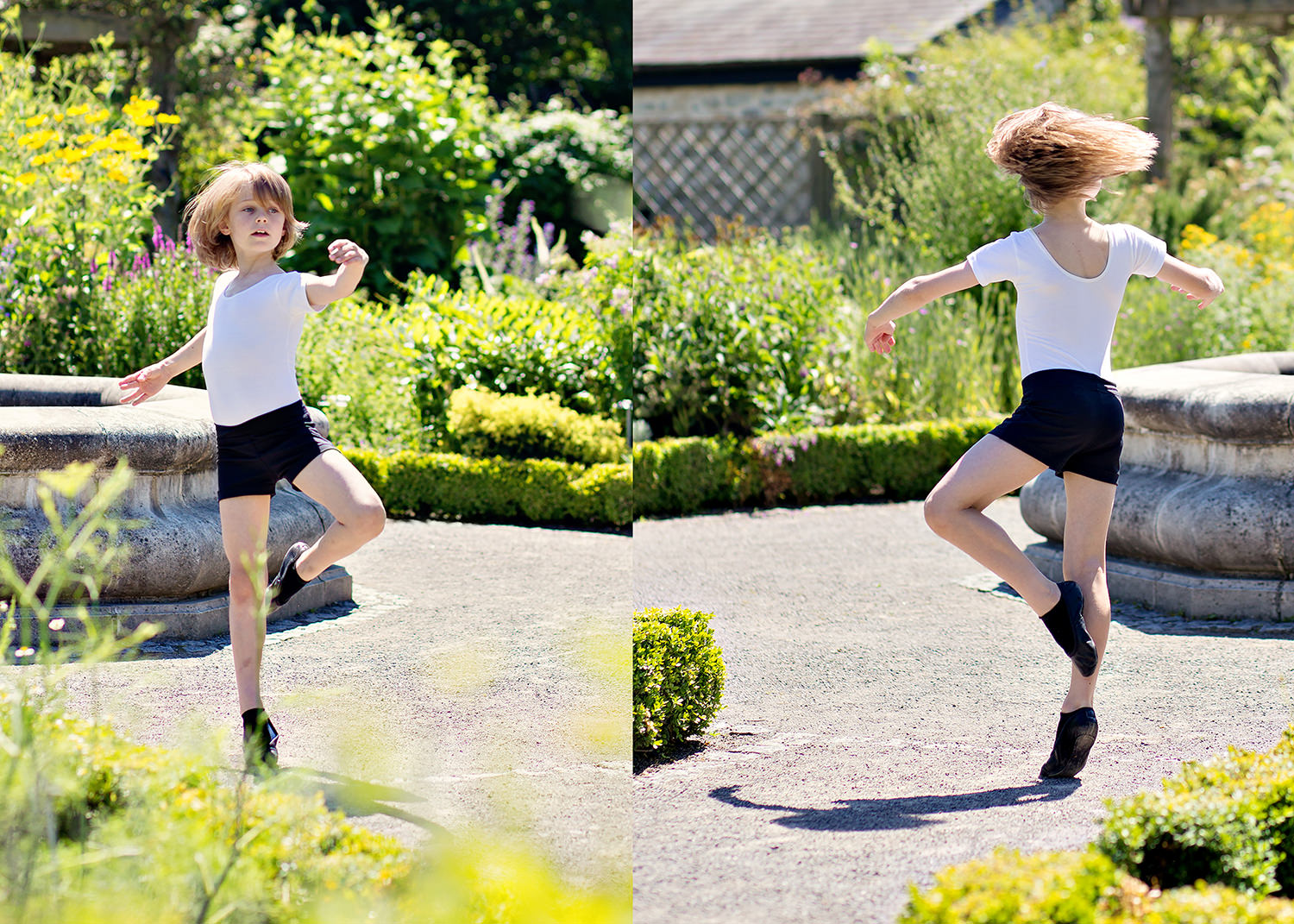 Ballet in the Physic Garden Cowbridge