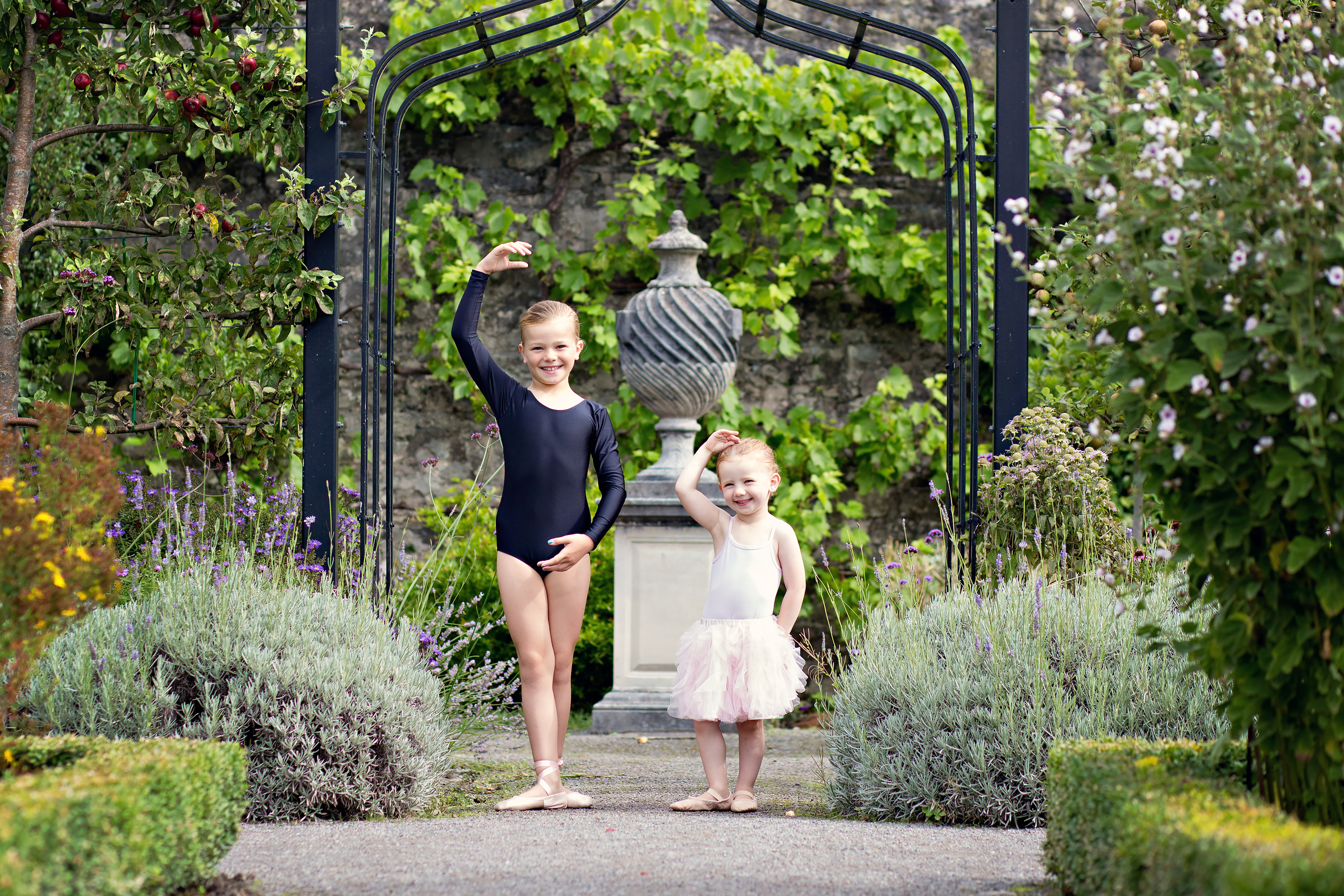 Ballet photo shoot in Cowbridge