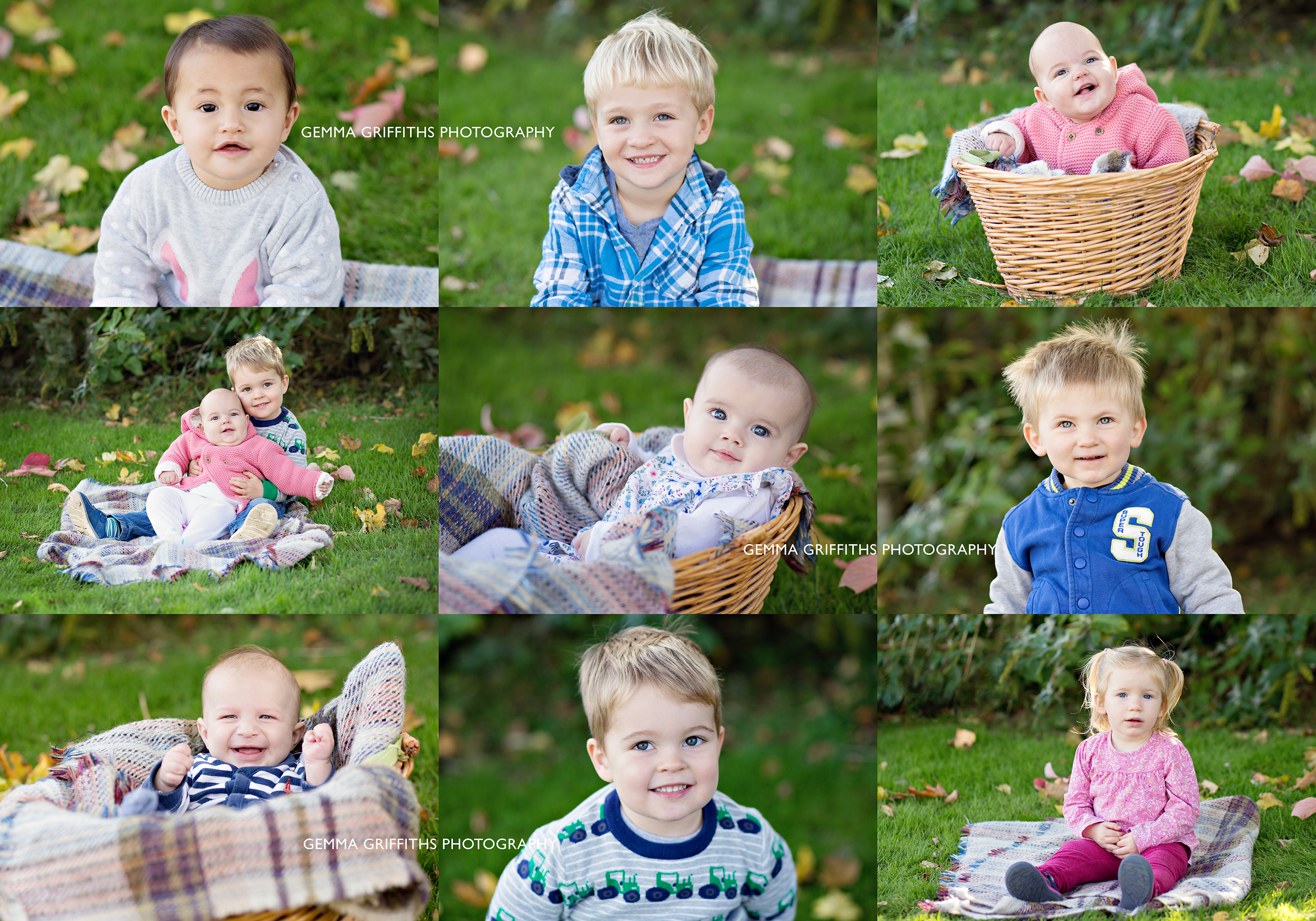 Autumn portraits at Cowbridge Baby & Toddler Group