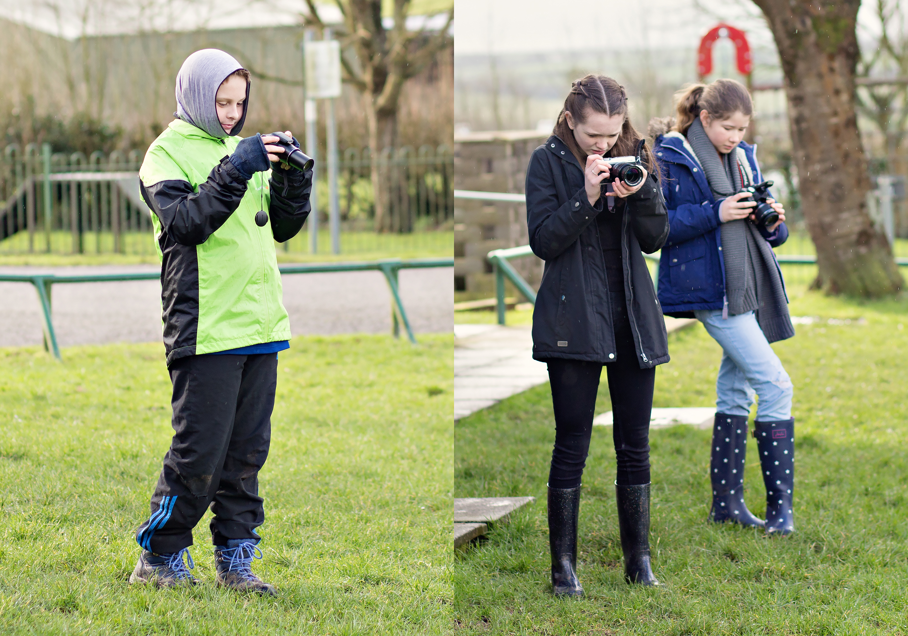 photography training cardiff teenagers