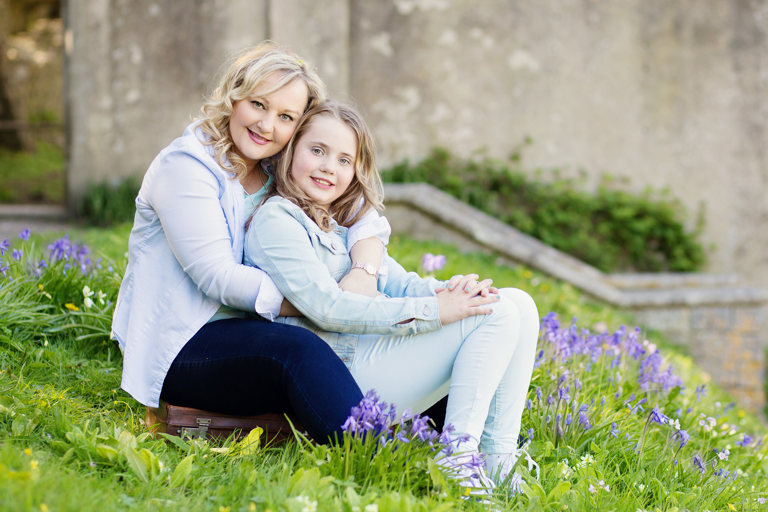 Mum and daughter Dunraven gardens photo shoot