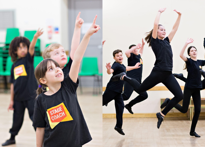 children dancing at Stagecoach