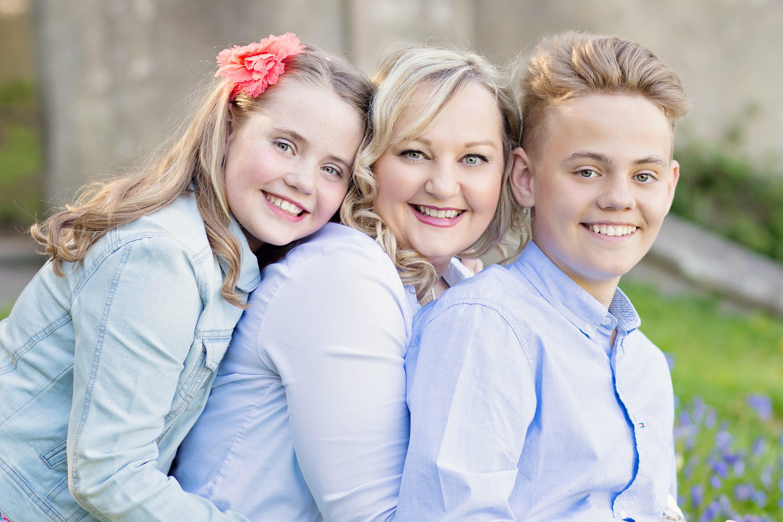 Mum and kids photo shoot