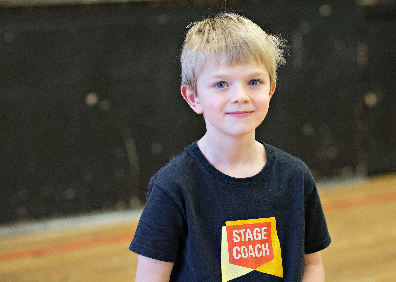 Boy at Stagecoach