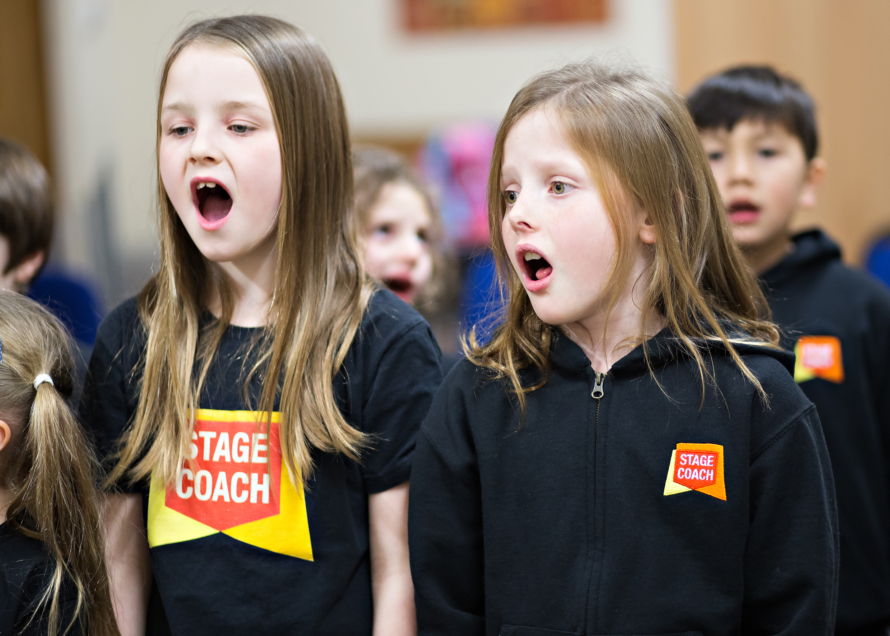 singing class at Stagecoach