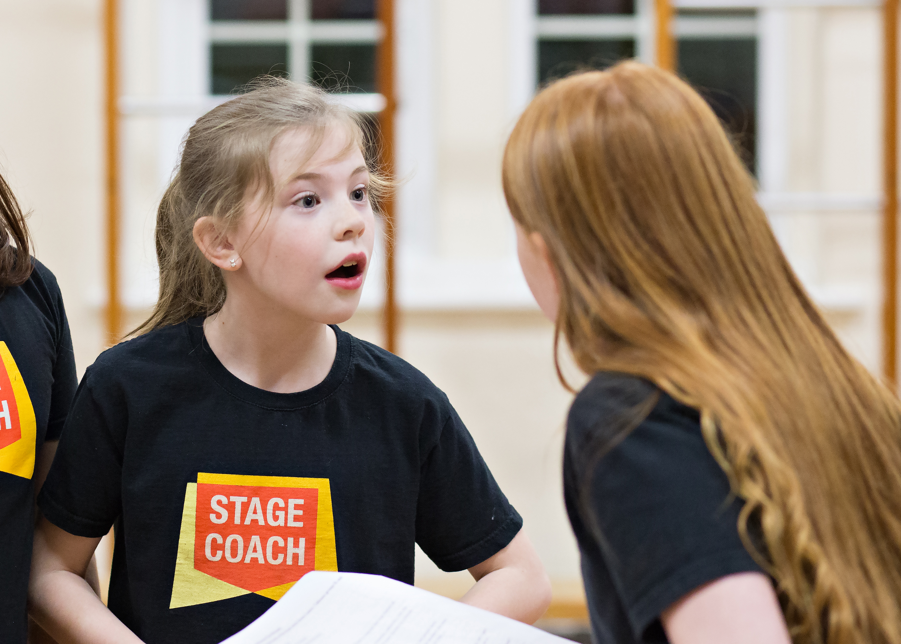 children's acting class at Stagecoach