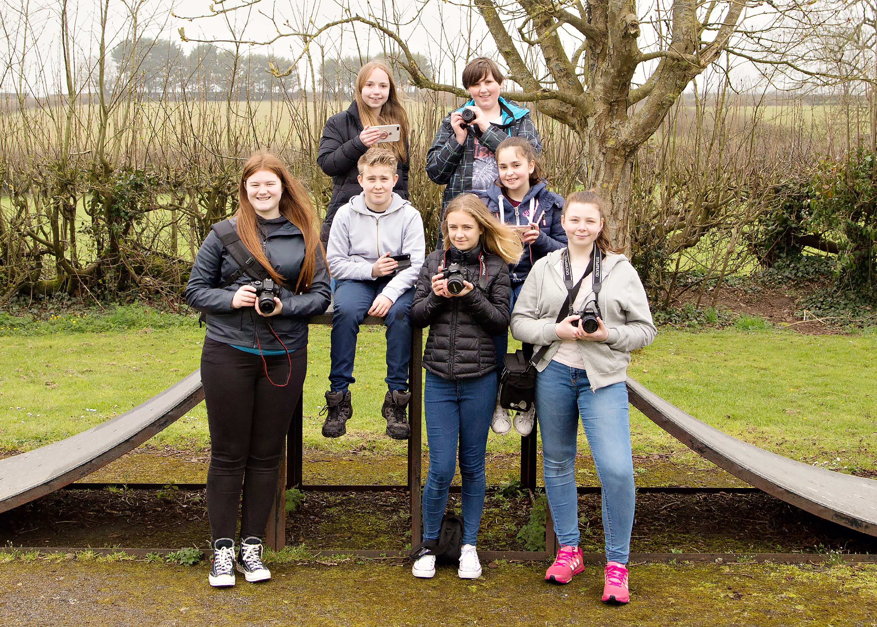 Young Photographers Workshop with Gemma Griffiths Photography Group Photo