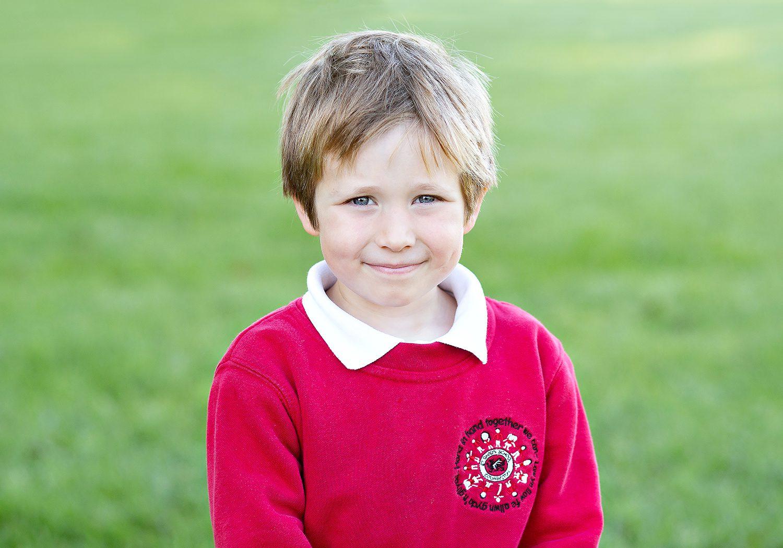 School portrait of boy
