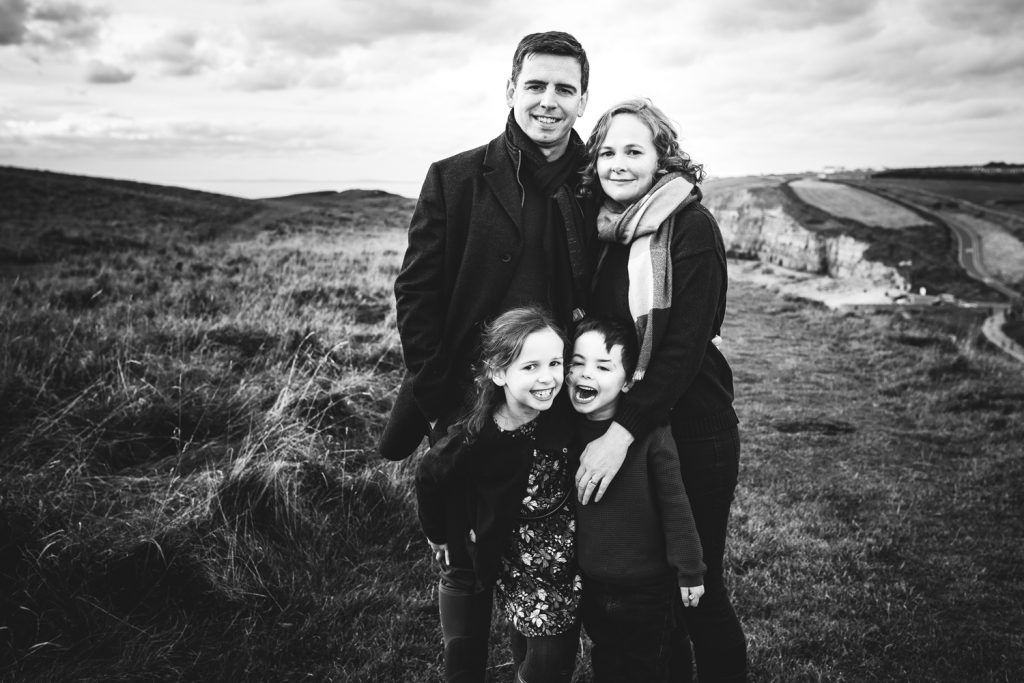 South Wales family beach shoot.