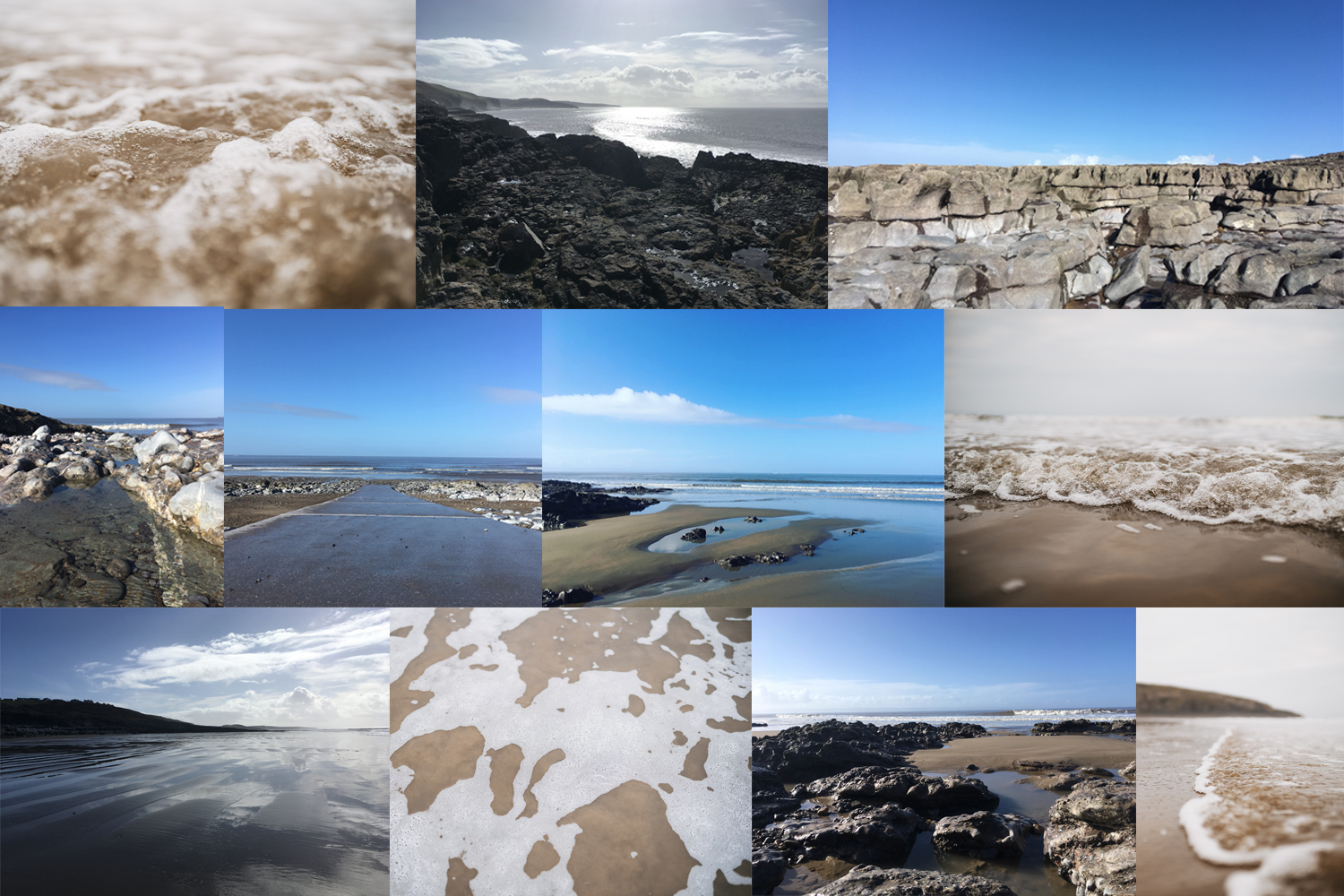 images of Ogmore beach
