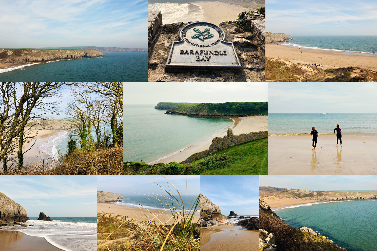 images of barafundle bay
