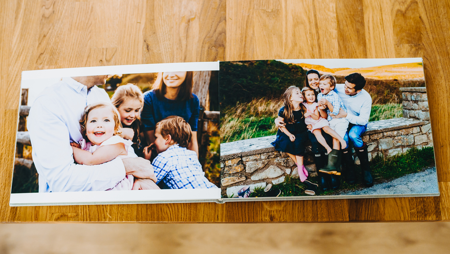 family photo album available from Gemma Griffiths Photography