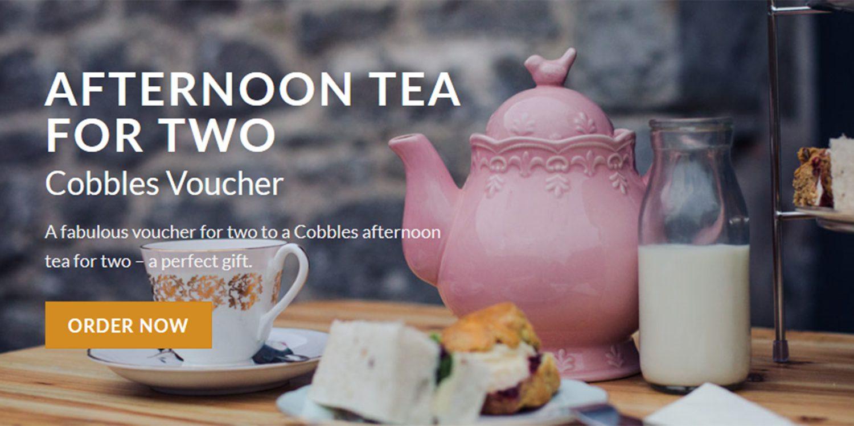 afternoon tea vouchers
