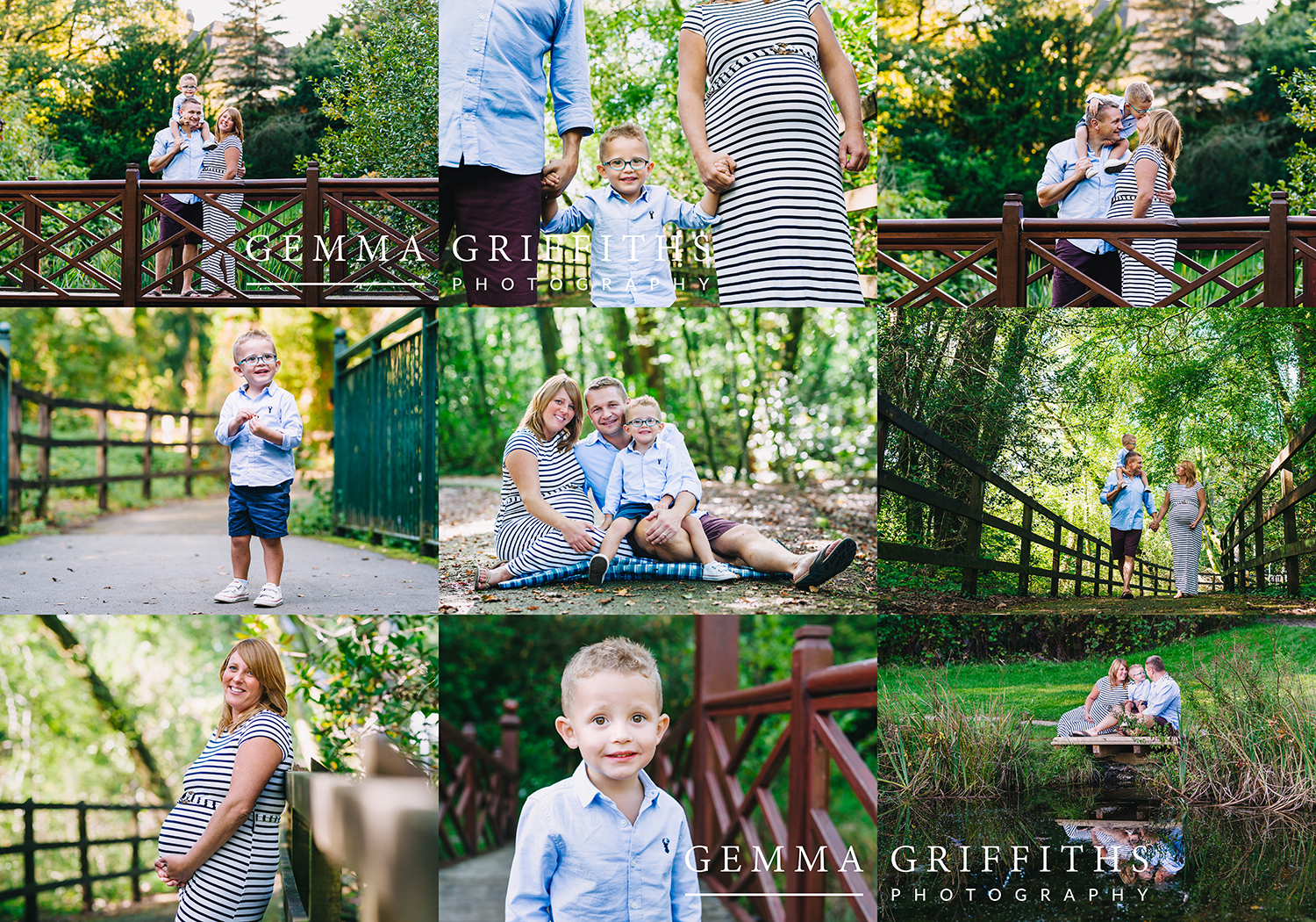 maternity family shoot. Bryngarw Park