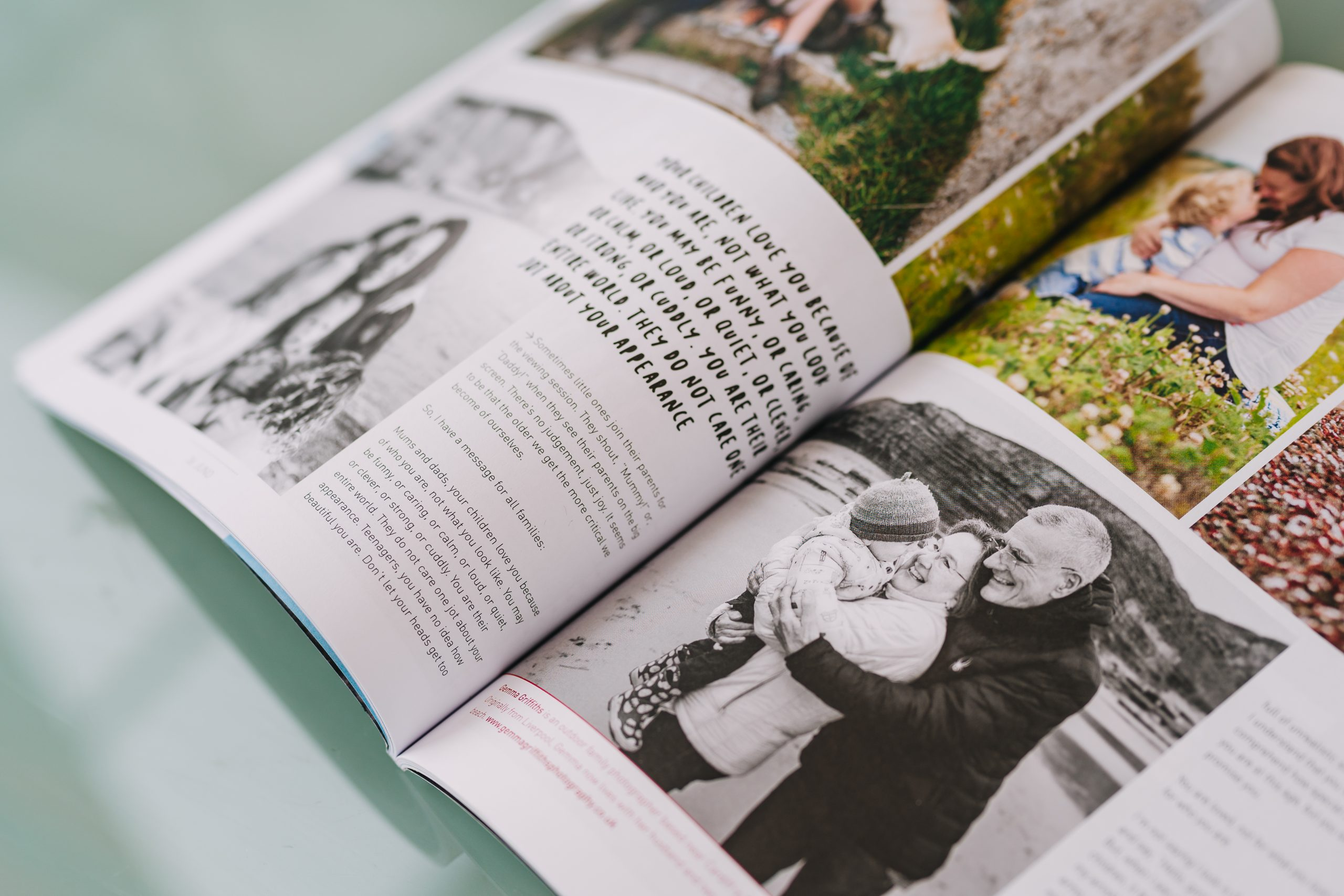 Cardiff family photographer featured in JUNO Magazine