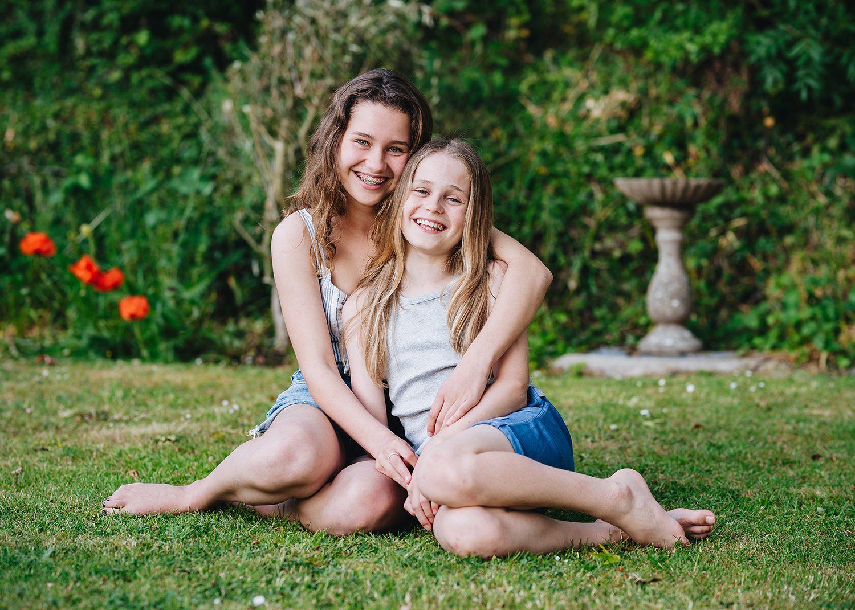 children garden photo shoot