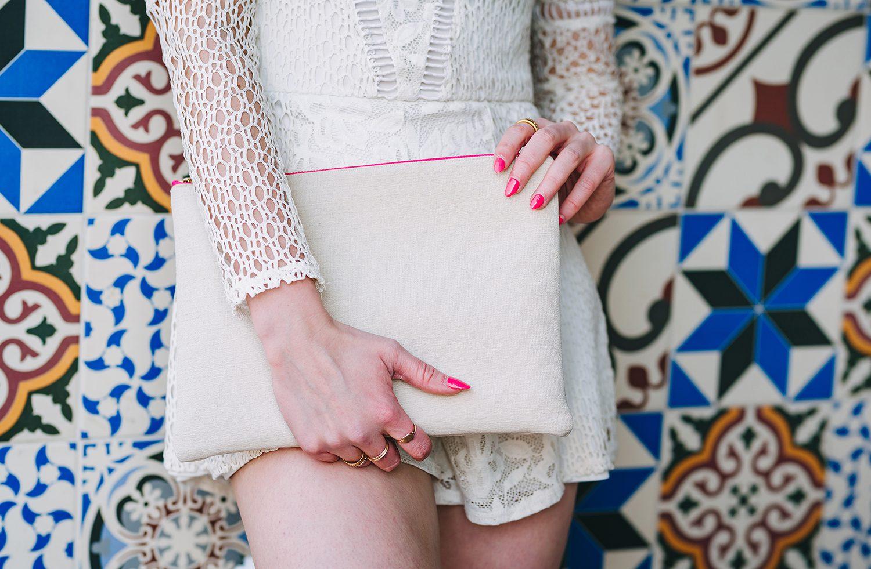 Eliza Eliza clutch bag